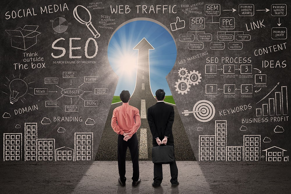 In order for your website to be found, you'll want to rely on strategies other than just paid search ads. Read more how to improve your SEO.