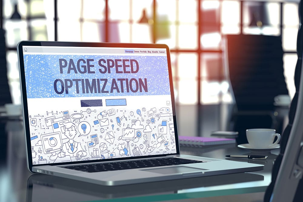 Here are 4 tips to help increase website speed.